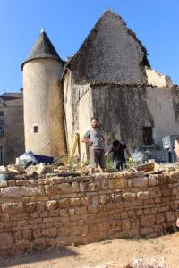 chantier participatif @ château du Bpoux