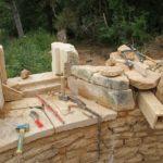 chantier participatif au château du Boux